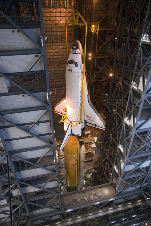 STS-135_Atlantis_in_VAB.jpg